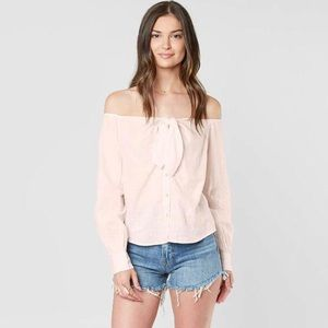 Free People Hello Beautiful' Off The Shoulder Top